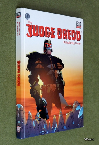 Image for Judge Dredd Role Playing Game (D20 System)
