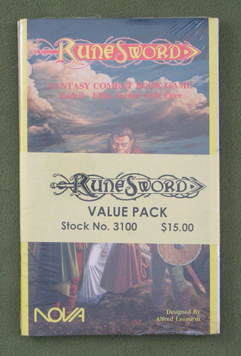 Image for Runesword Value Pack (Lost Worlds Fantasy Combat Picture Game)