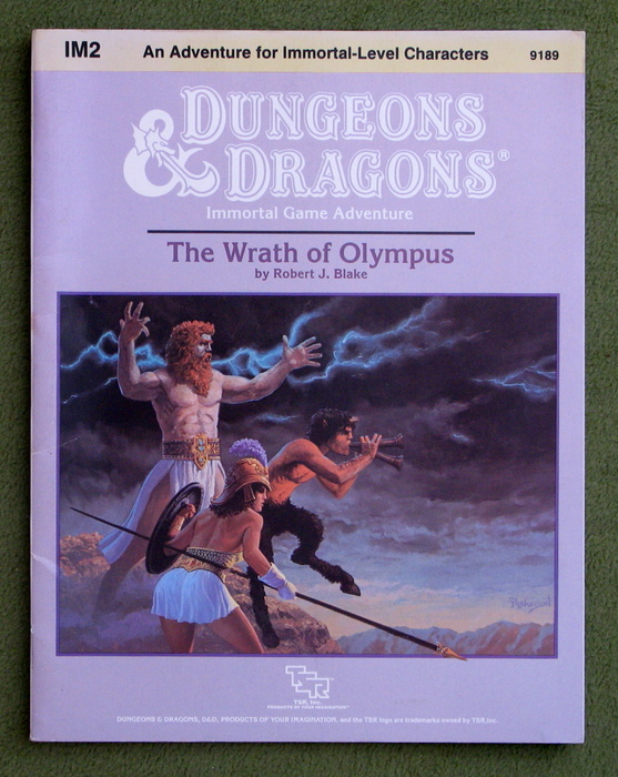 Image for The Wrath of Olympus (Dungeons & Dragons Module IM2)