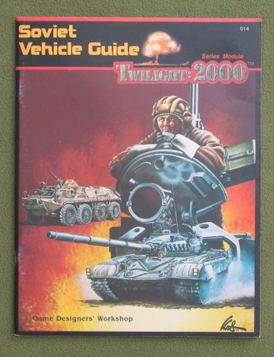 Image for Soviet Vehicle Guide (Twilight : 2000)