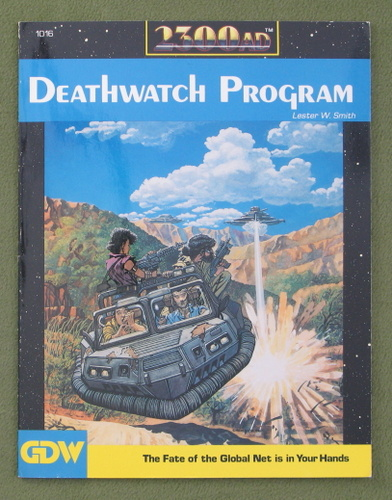 Image for Deathwatch Program (2300AD role playing game)