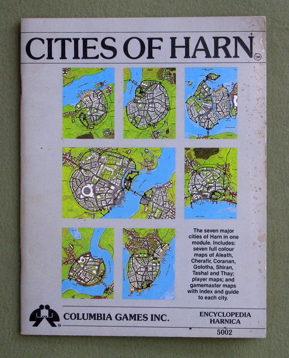Image for Cities of Harn - PLAY COPY