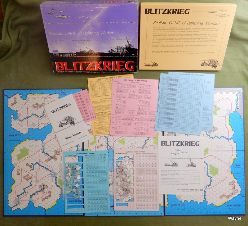 Image for Blitzkrieg: Board Game of Lightning Warfare