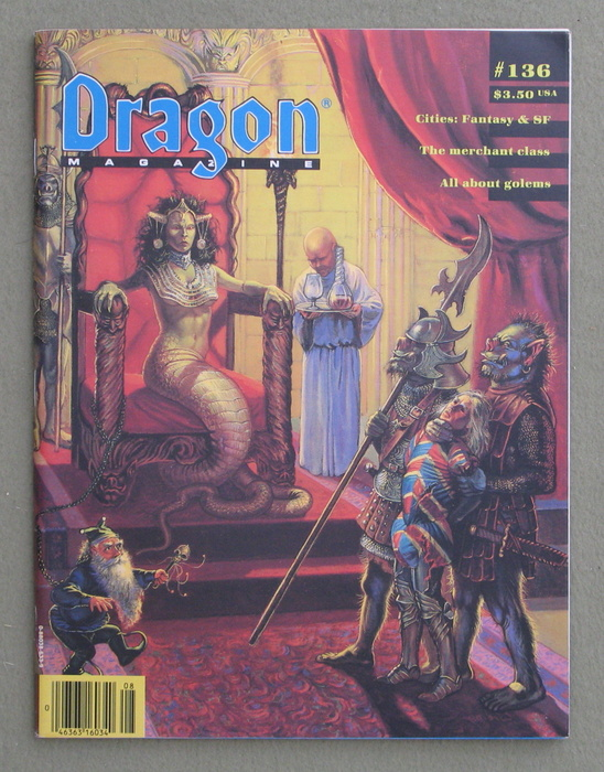Image for Dragon Magazine, Issue 136