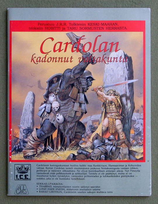 Image for Cardolan: Kadonnut Valtakunta (Finnish language: Lost Realm of Cardolan for Middle Earth Roleplaying/MERP)