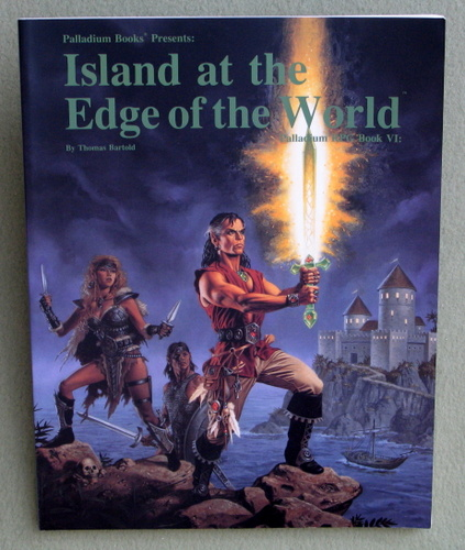 Image for Island at the Edge of the World (Palladium RPG, Book Six)