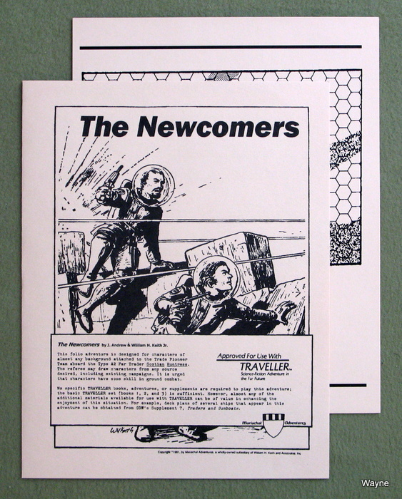 Image for The Newcomers (Traveller: Marischal Adventures)