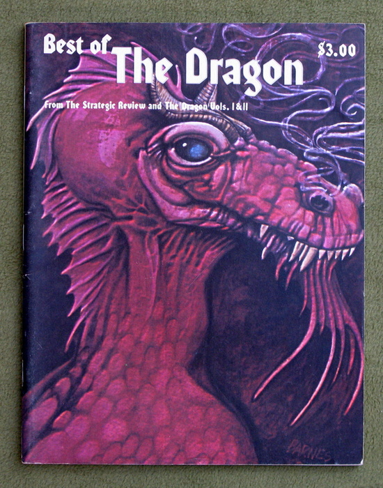 Image for Best of Dragon Magazine/from the Strategic Review and the Dragon, Vols I and II (Best of the Dragon) - 1ST PRINT