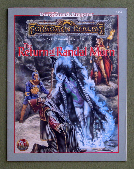Image for The Return of Randal Morn (Advanced Dungeons & Dragons: Forgotten Realms)