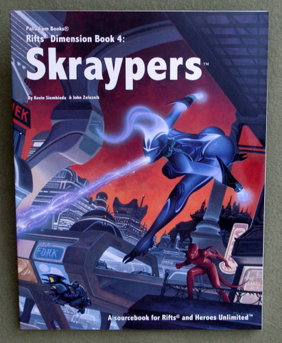 Image for Skraypers (Rifts Dimension Book 4)