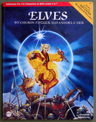 Image for Elves (Role Aids / Advanced Dungeons & Dragons)