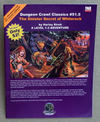 Image for Dungeon Crawl Classics #51.5: The Sinister Secret of Whiterock - PLAY COPY