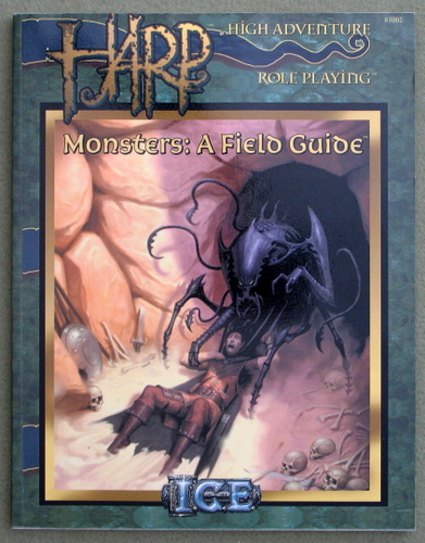 Image for Monsters: A Field Guide (HARP: High Adventure Role Playing)