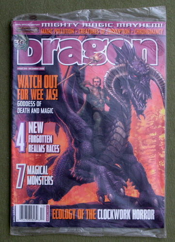 Image for Dragon Magazine, Issue 350