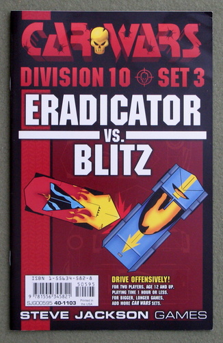 Image for Car Wars Division 10 Set 3: Eradicator vs. Blitz