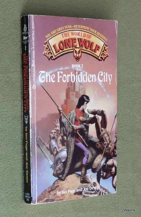 Image for The Forbidden City (The World of Lone Wolf, Book 2)