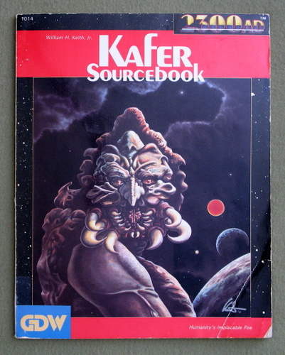 Image for Kafer Sourcebook (2300AD role playing game) - PLAY COPY