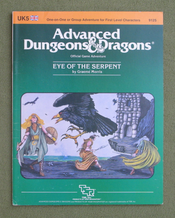 Image for Eye of the Serpent (Advanced Dungeons & Dragons Module UK5)