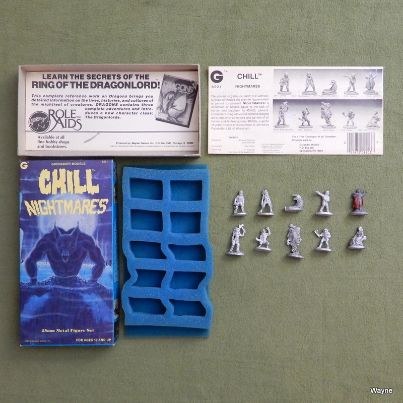 Image for Chill Nightmares (25mm Metal Lead Miniature Set)