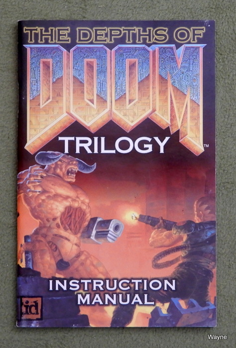 Image for Depths of Doom Trilogy: Instruction Manual [Only - No Game]