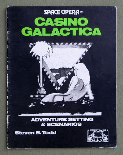 Image for Casino Galactica: Adventure Setting & Scenarios (Space Opera)