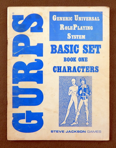 Image for BOOK 1: CHARACTERS (GURPS Basic Set)