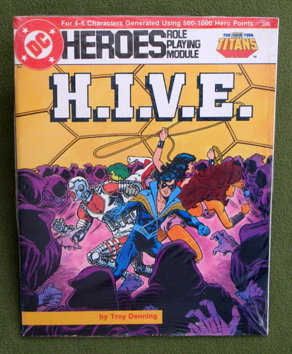 Image for H.I.V.E. (DC Heroes role playing game)