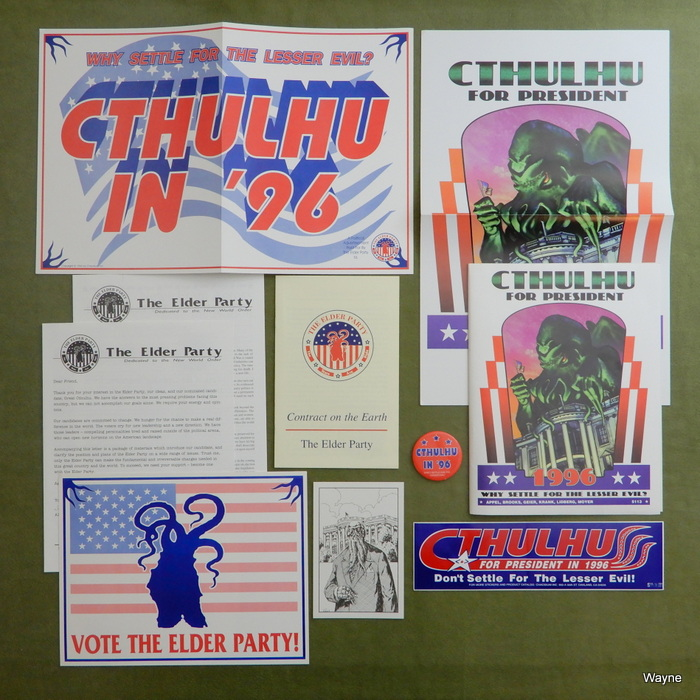 Image for Cthulhu for President 1996: Why Settle for the Lesser Evil?