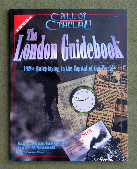Image for The London Guidebook: 1920s Roleplaying in the Capital of the World (Call of Cthulhu RPG)