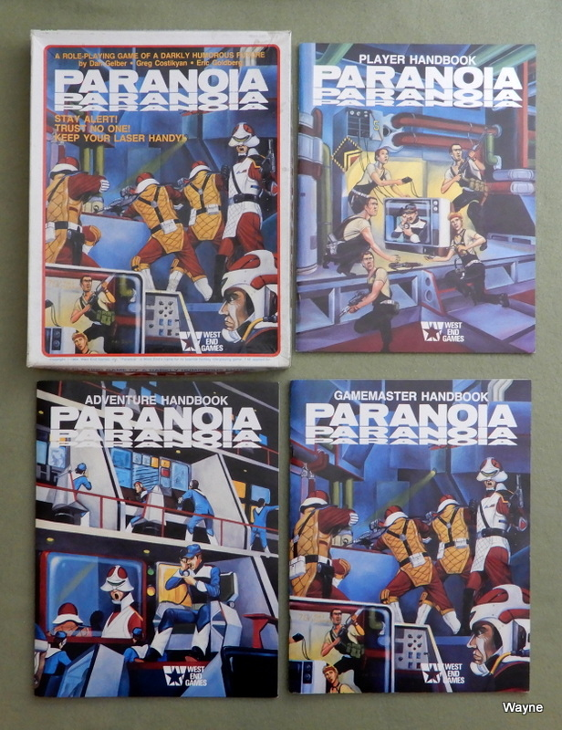 Image for Paranoia: Role-Playing Game of a Darkly Humorous Future (1st Edition)