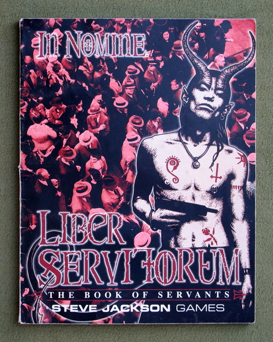 Image for Liber Servitorum (In Nomine) - PLAY COPY