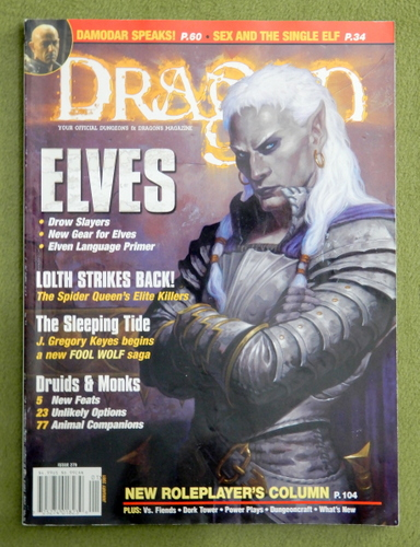 Image for Dragon Magazine, Issue 279
