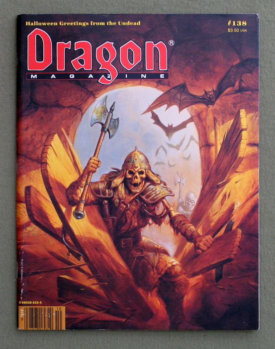 Image for Dragon Magazine, Issue 138