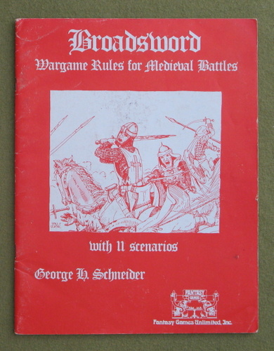 Image for Broadsword: Wargame Rules - NO REF CHARTS