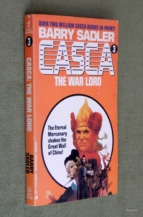Image for Casca: The War Lord (Casca, No. 3)