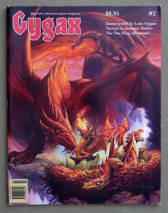 Image for Gygax Magazine, Issue 2 - SIGNED