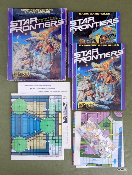 Image for Star Frontiers: Science Fiction Role Playing Game - WORN PLAY SET