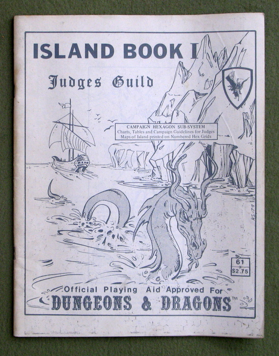 Image for Island Book 1: Campaign Hexagon Sub-system (Dungeons & Dragons) - PLAY COPY