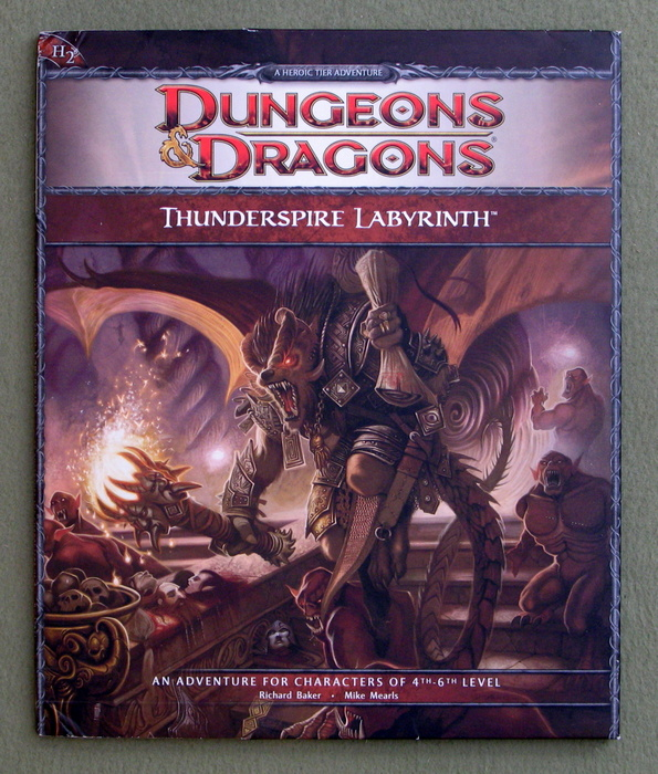 Image for Thunderspire Labyrinth (Dungeons & Dragons Adventure H2)