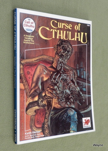 Image for Curse of Cthulhu: A Campaign of Desperate Struggle Against the Brotherhood (Call of Cthulhu)