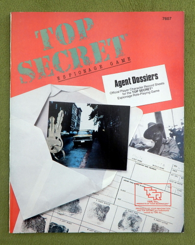 Image for Agent Dossiers (Top Secret RPG)