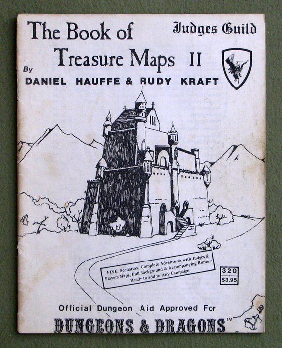 Image for Book of Treasure Maps II (Judges Guild: Dungeons & Dragons) - PLAY COPY