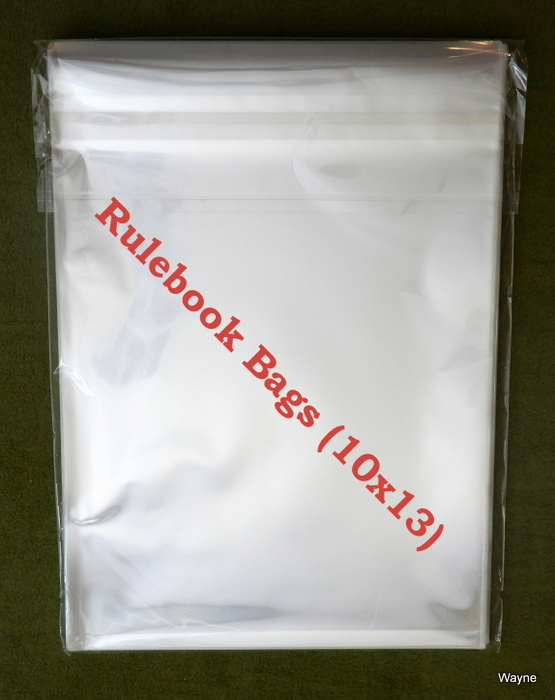 Image for Rulebook Bags (10x13) - PACK OF 50