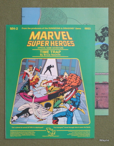Image for Time Trap (Marvel Super Heroes module MH2)