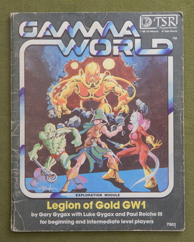 Image for Legion of Gold (Gamma World GW1) - HEAVY WEAR - PLAY COPY