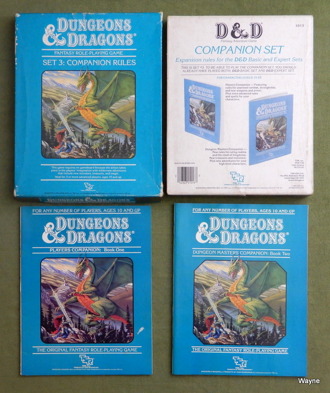 Image for Dungeons and Dragons: Companion Rules (Set 3) - PLAY SET