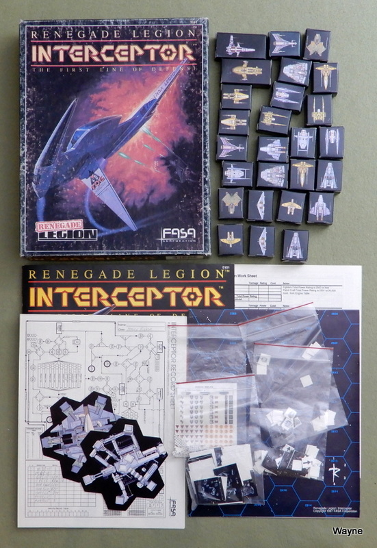 Image for Interceptor: The First Line of Defense (Renegade Legion)