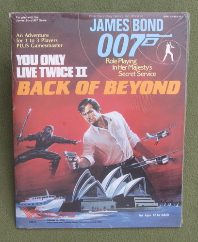 Image for You Only Live Twice II: Back of Beyond (James Bond 007 RPG)