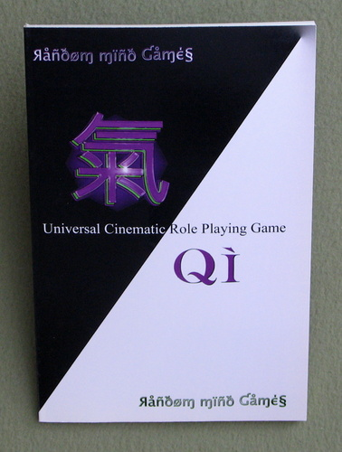 Image for Qi: Universal Cinematic Role Playing Game