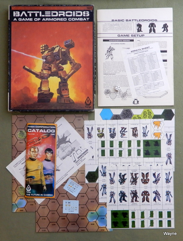 Image for Battledroids: A Game of Armored Combat - MISSING MECHS
